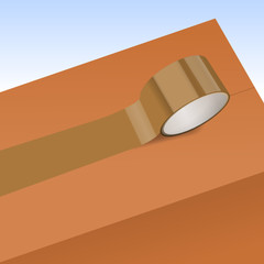 paketklebeband auf karton III