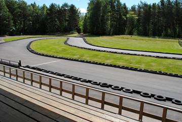 karting rennbahn