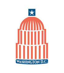 Travel Symbol for the Town of Washington DC