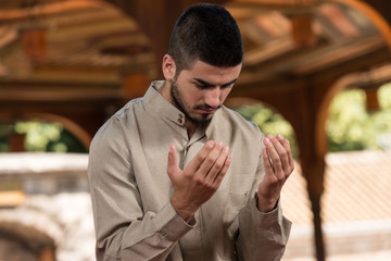 Humble Muslim Prayer