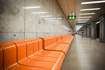 subway station interior