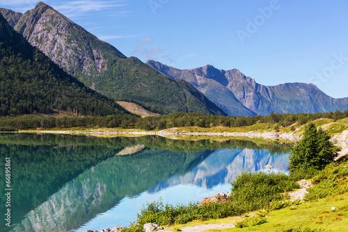 Lake in Norway - 66895861