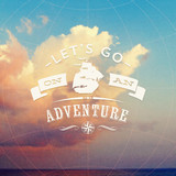 Lets go on an adventure - type design - 66896693