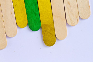 wood ice lolly sticks, Ice cream sticks
