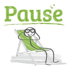 Pause, ausruhen