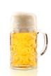 canvas print picture - Eine Maß Bier