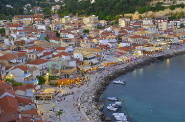 parga - night