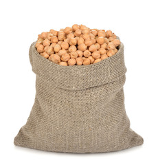 chickpeas in a bag