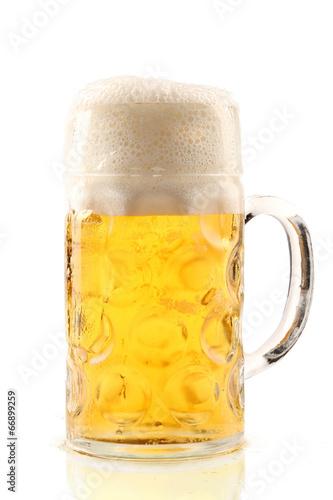 canvas print picture Eine Maß Bier