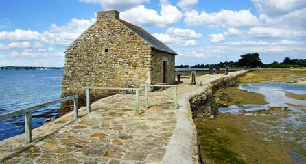 moulin a marée sur l'île d'Artz