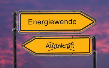 Strassenschild 22- Energiewende