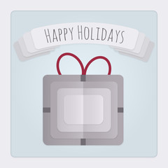 Present Holidays Card