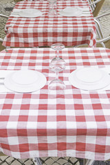 Bar table cloth