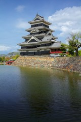 Japanese castle in Matsumoto
