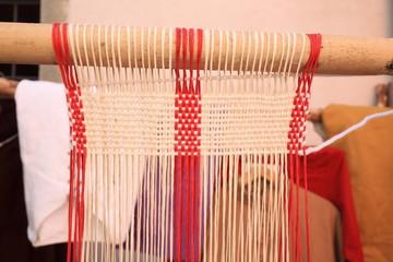 telaio per tessere lana strumento antico