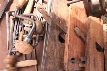 attrezzi pialle per lavorare il legno antico mestiere