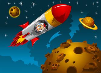 flight around the moon
