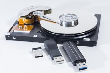 Festplatte und USB Sticks - Datensicherheit