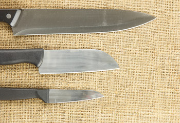 Kitchen utensil - cooking knife