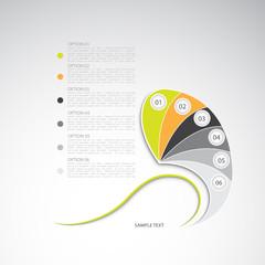 Modern design template, vector illustration