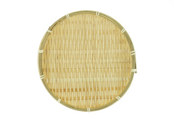 pan basket on white background