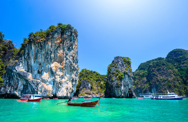 beautiful ocean landscape in Thailand