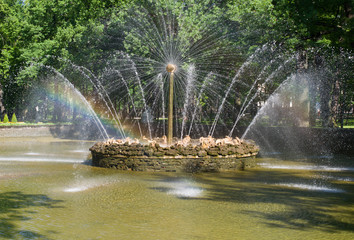 "Fountain ""Sun"",Russia,Peterhof"