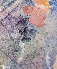 abstract watercolor background  with blots