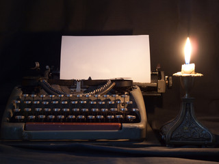 The typewriter that has been used in the last century