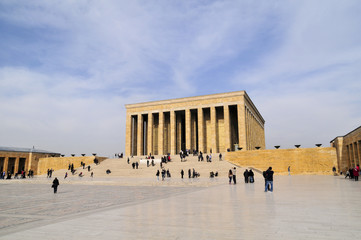 Ankara, Turkey - Mausoleum of Ataturk