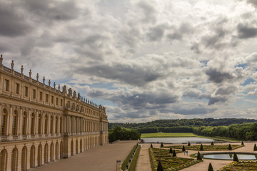 Garden of Versailles near Paris