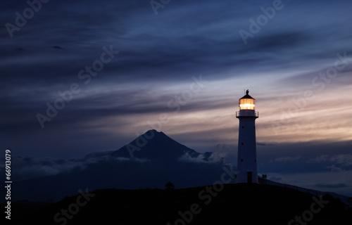 Aluminium Nieuw Zeeland Cape Egmont Lighthouse, New Zealand