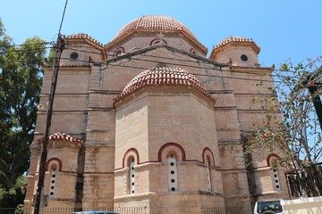 Church of Panagitsa, Aegina, Greece