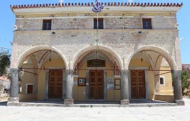 The Greek Orthodox Metropolitan church of Aegina,  Greece