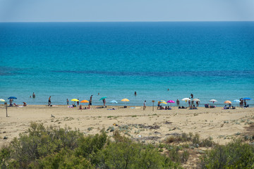 Wonderful Sicilia sandy Beach
