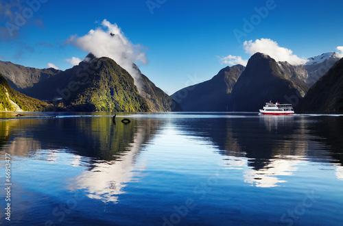 Aluminium Nieuw Zeeland Milford Sound, New Zealand