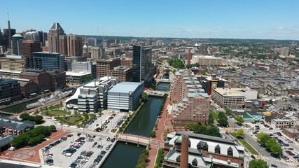 Canal Through Baltimore
