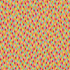seamless colorful harlequin pattern