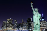 Manhattan and The Statue of Liberty, New York City - 66915057