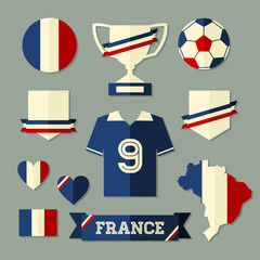 France Football Icons Collection