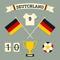 Germany Football Icons Collection