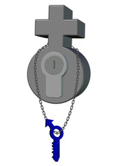 mavi erkek cinsiyeti anahtar tasarımı