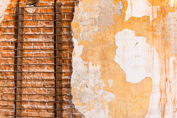 Decayed wall