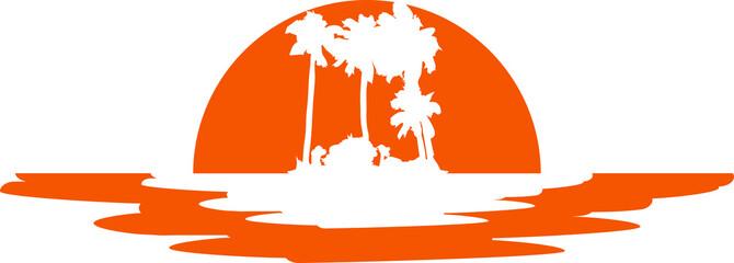 Insel Urlaub Palmen Sonne Meer
