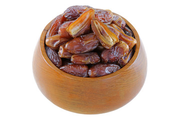 Natural dried Deglet Nour dates from Israel