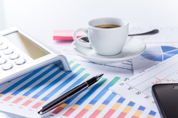 Business financial concept.