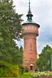 Leinwanddruck Bild - Wasserturm Forst (Lausitz)