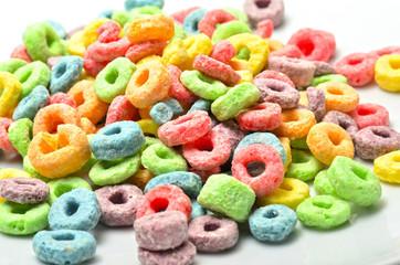 Cereales sabor frutas