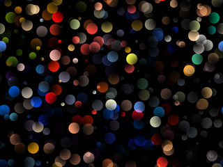 Bokeh Background Texture