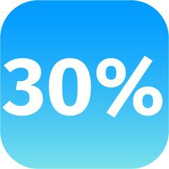 30 percent icon